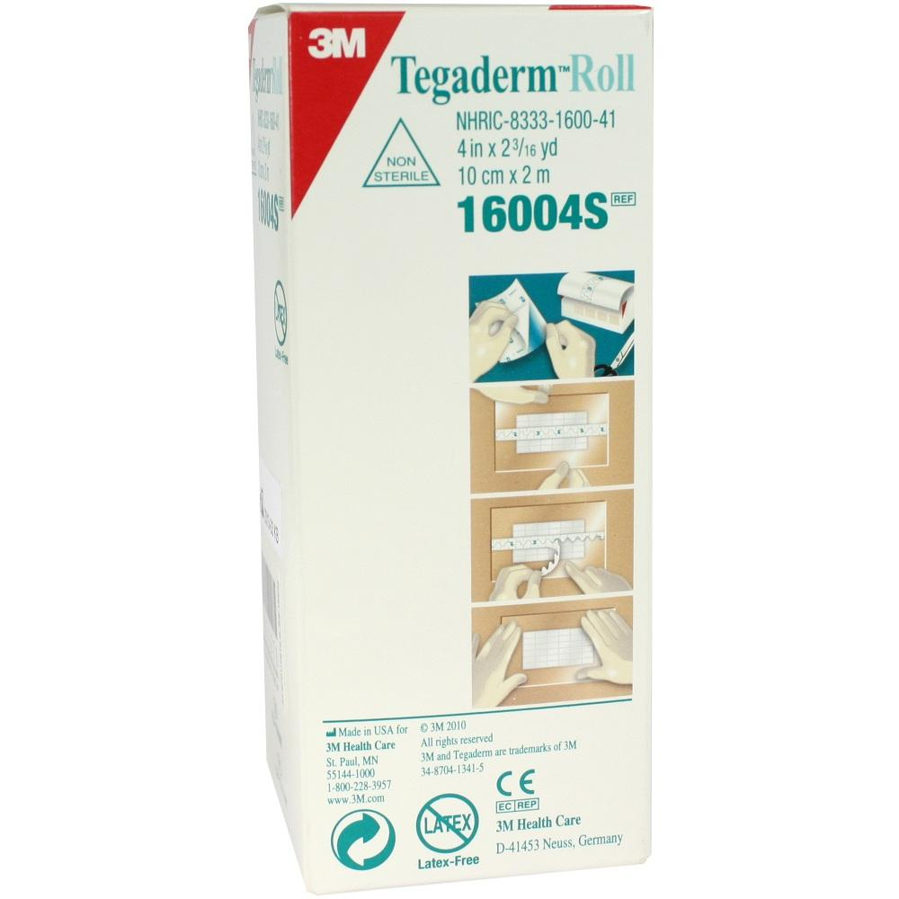 TEGADERM 3M Pflaster 10 cmx2 m Rolle 16004S