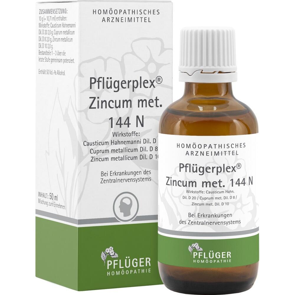 01565595, Pflügerplex Zincum met.144 N, 50 ML
