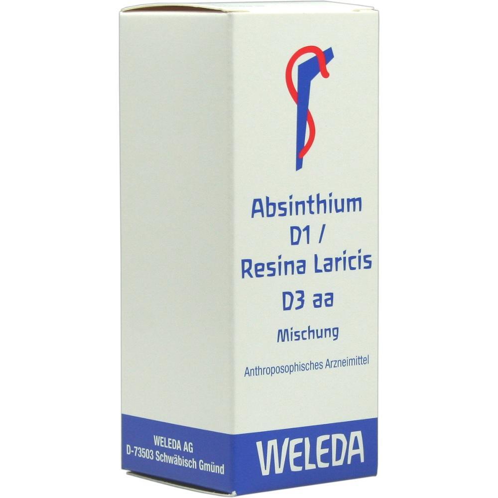 ABSINTHIUM D 1 Resina Laricis D 3 aa Dilution