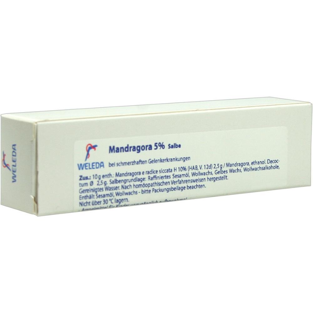 01572974, MANDRAGORA 5%, 25 G