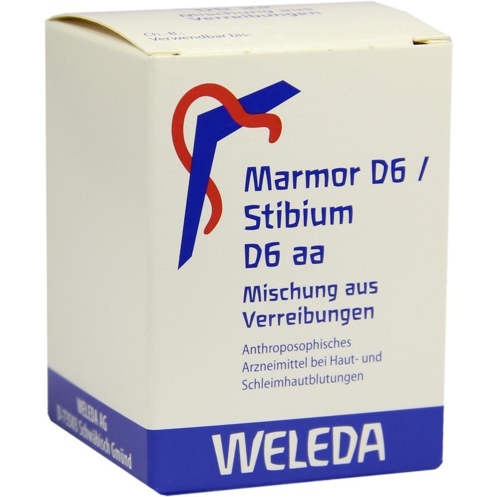 MARMOR D 6 / STIBIUM D 6 aa Trituration