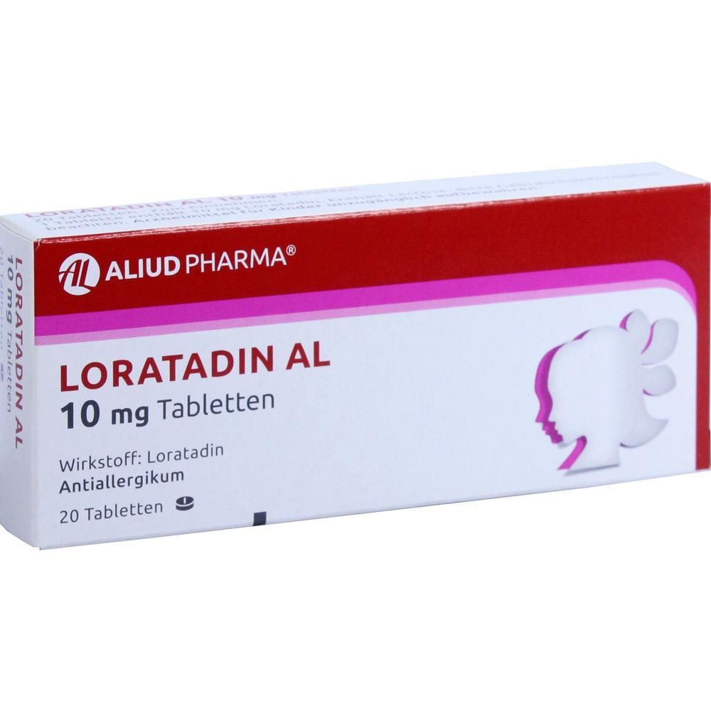 01653968, Loratadin AL 10mg, 20 ST