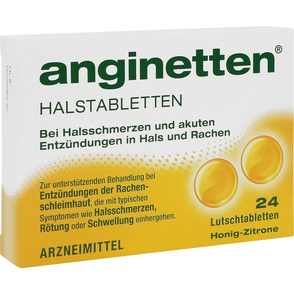 01654092, anginetten Halstabletten, 24 ST