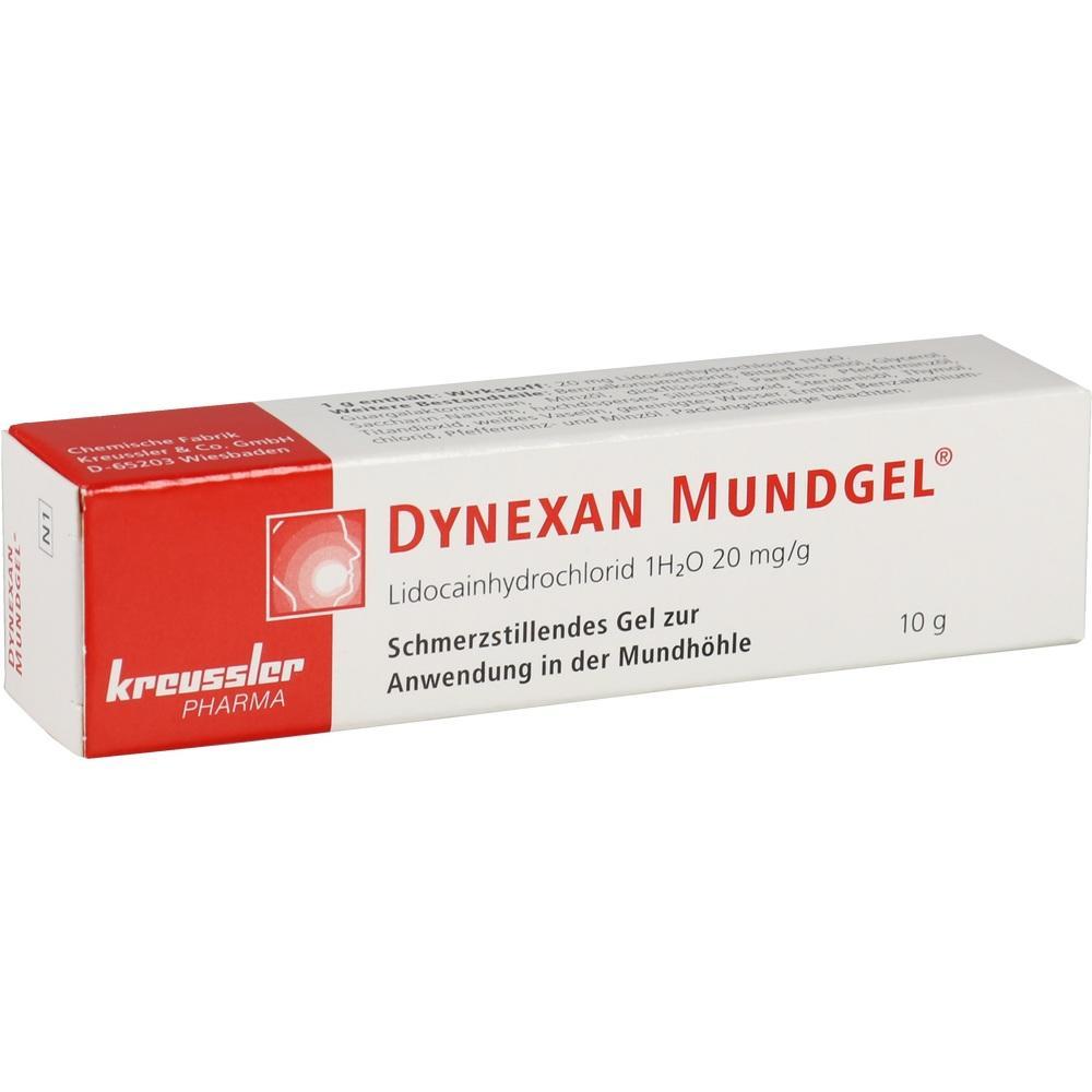 01662915, Dynexan Mundgel, 10 G