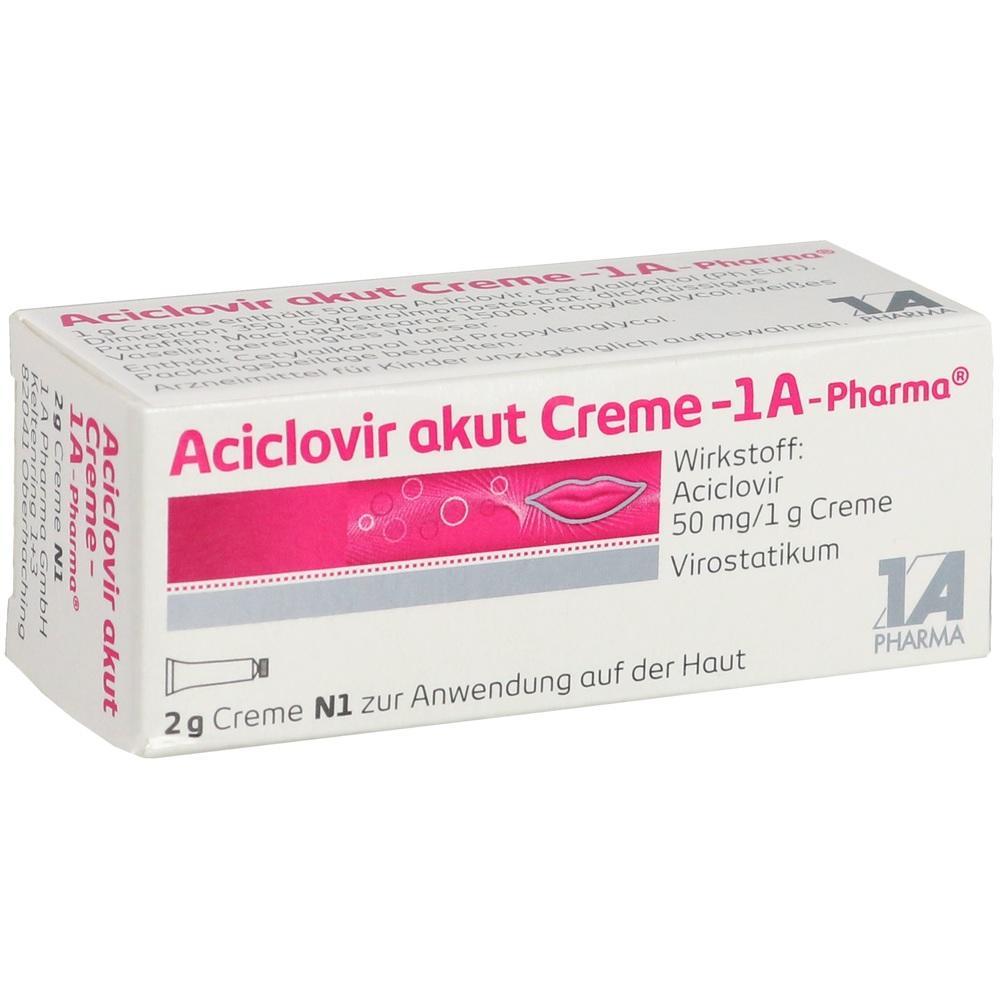 01664245, Aciclovir akut Creme - 1A-Pharma, 2 G