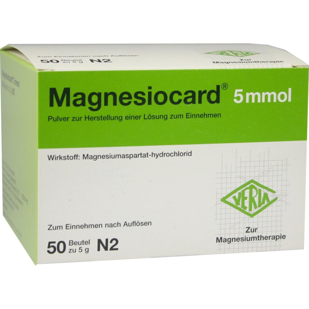 01667864, Magnesiocard 5mmol, 50 ST
