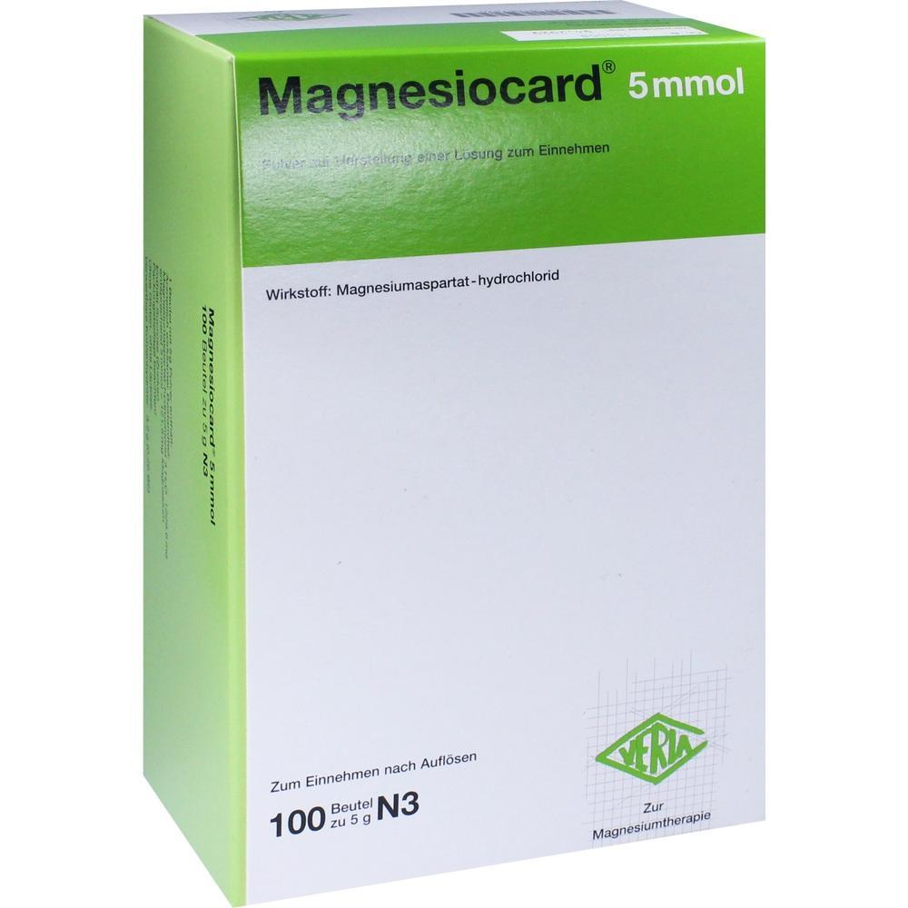01667870, Magnesiocard 5mmol, 100 ST