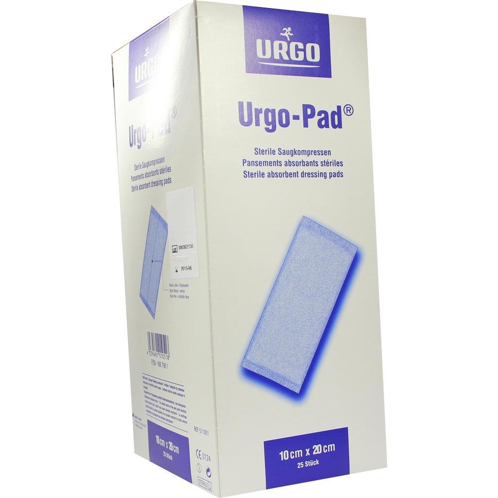 URGO-PAD Saugkompressen 10x20 cm steril
