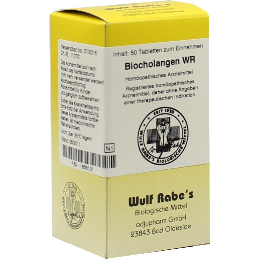01668131, Biocholangen WR, 50 ST