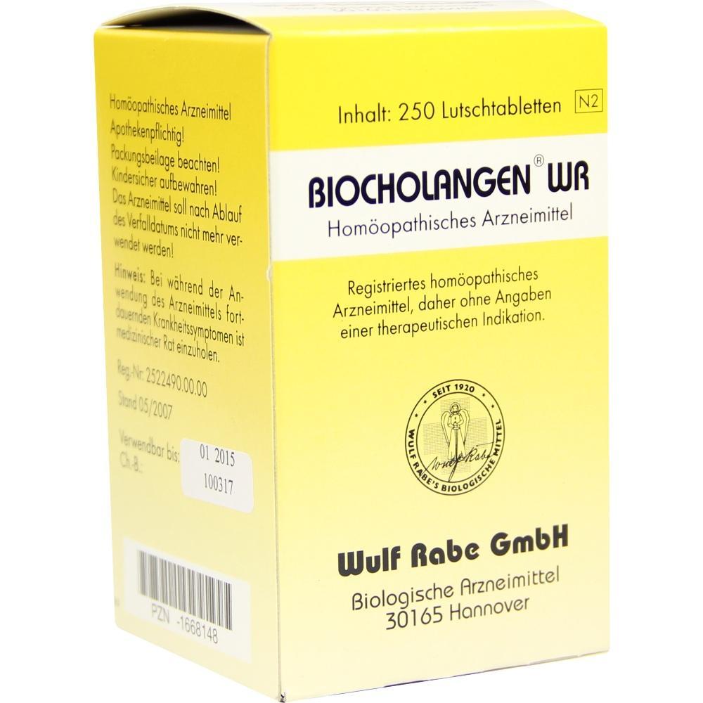 01668148, Biocholangen WR, 250 ST