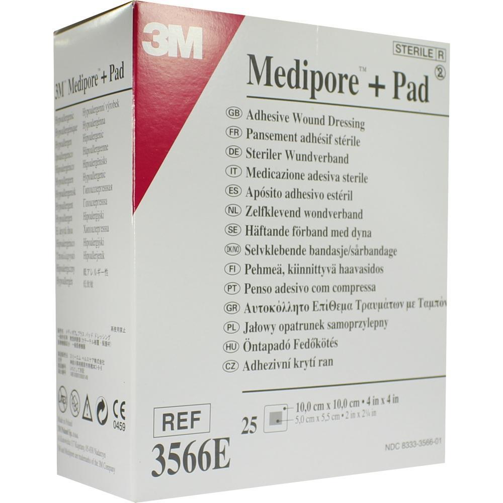 01681203, Medipore plus Pad steriler Wundverband 3566E, 25 ST
