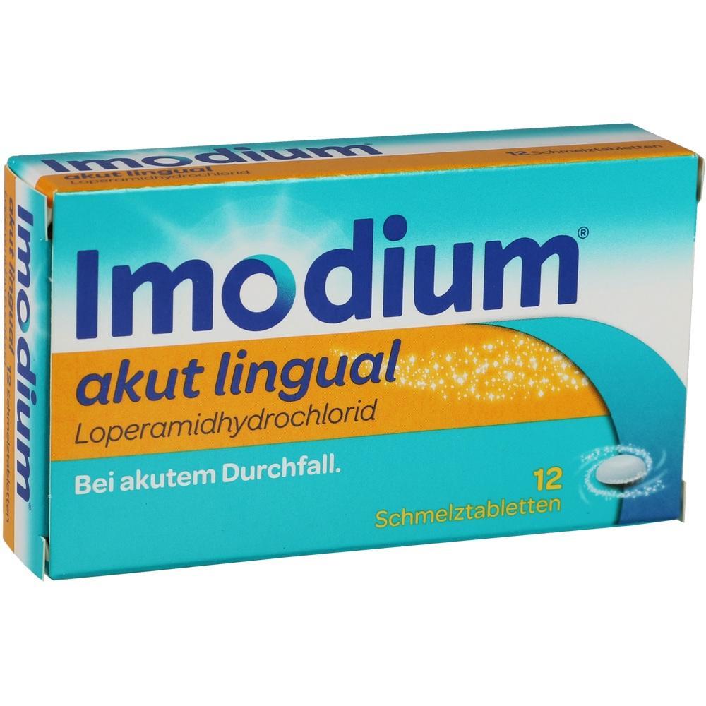01689854, Imodium akut lingual, 12 ST
