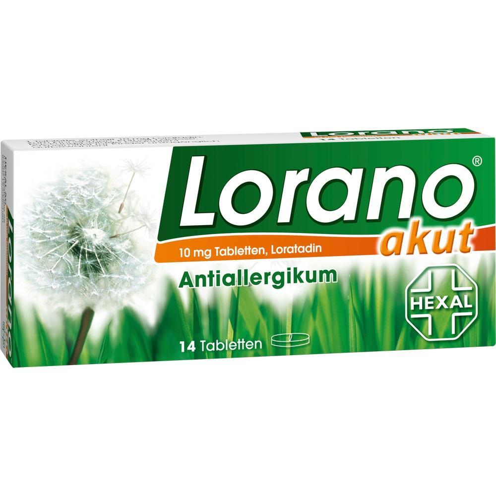 01691621, Lorano akut, 14 ST