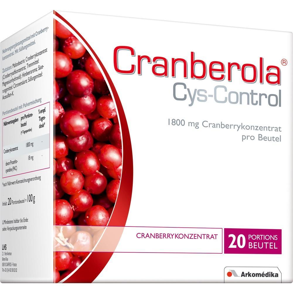 01743387, Cranberola Cys-Control, 20X5 G