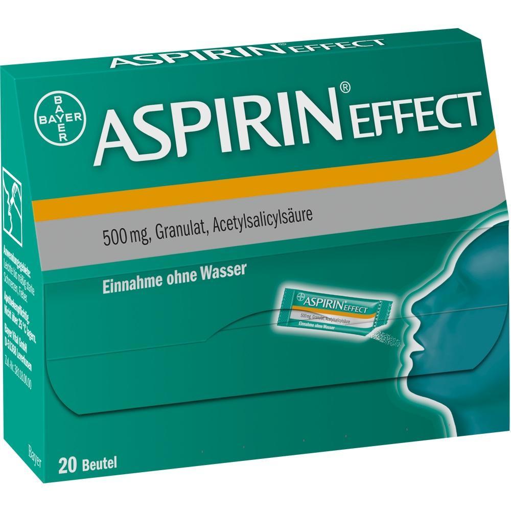 01743631, Aspirin effect Granulat, 20 ST