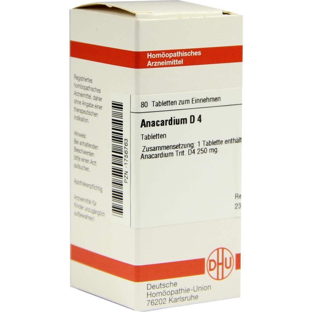 ANACARDIUM D 4 Tabletten
