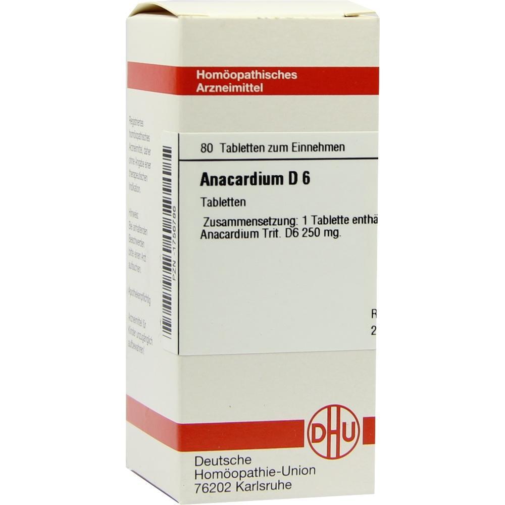ANACARDIUM D 6 Tabletten
