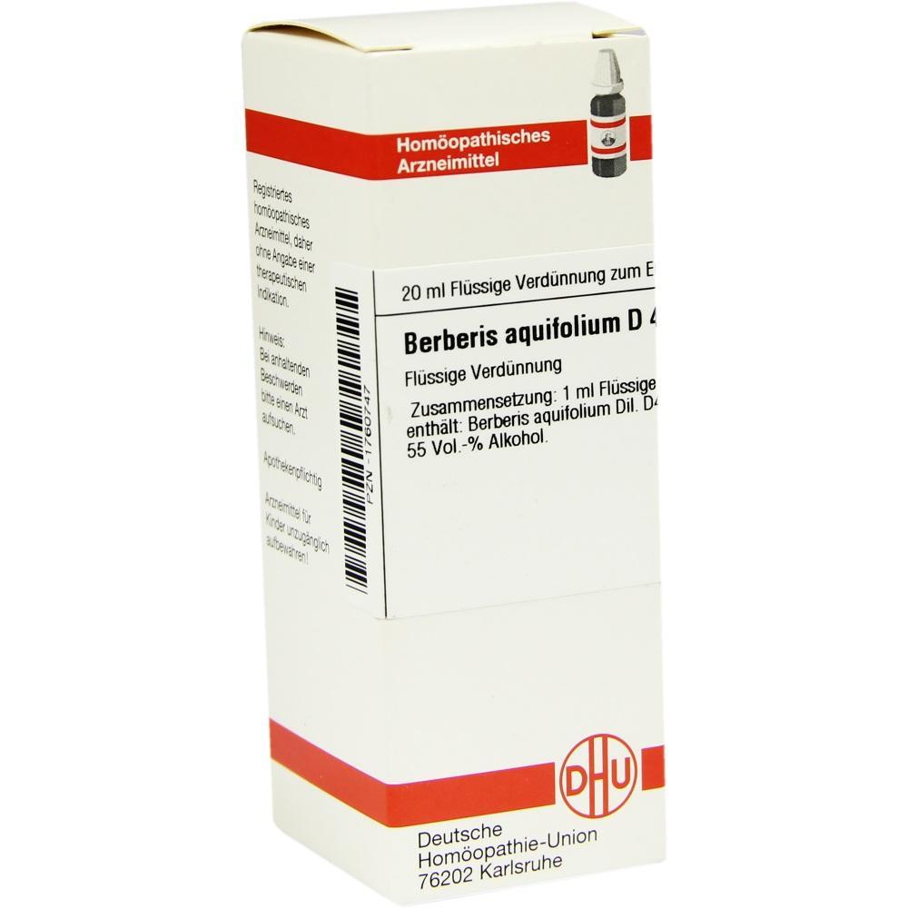 BERBERIS AQUIFOLIUM D 4 Dilution