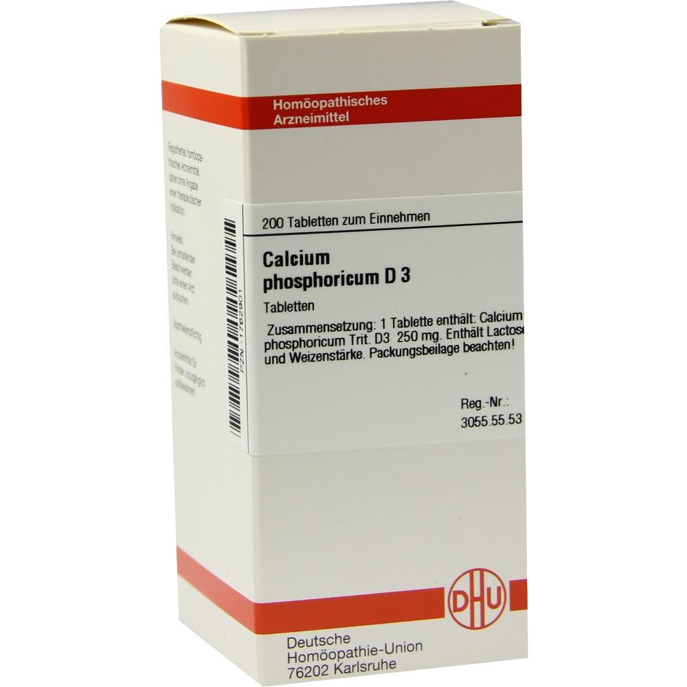 CALCIUM PHOSPHORICUM D 3 Tabletten