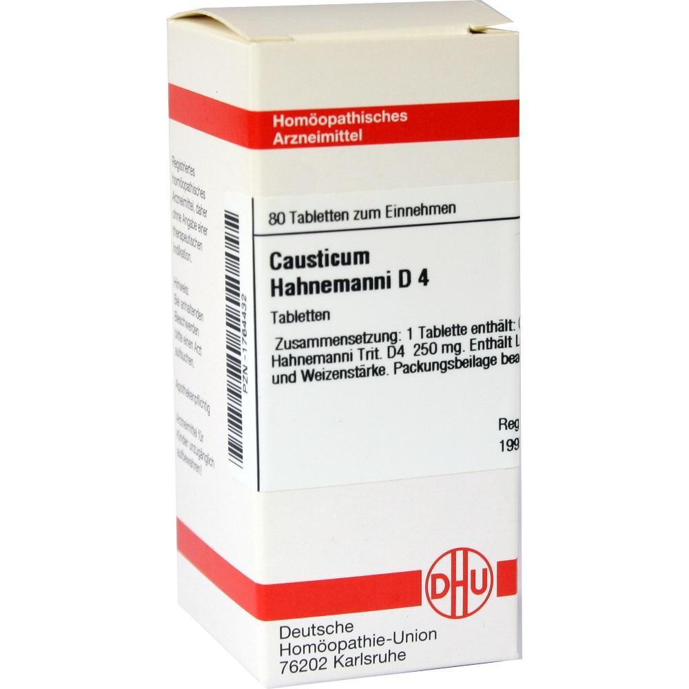 CAUSTICUM HAHNEMANNI D 4 Tabletten