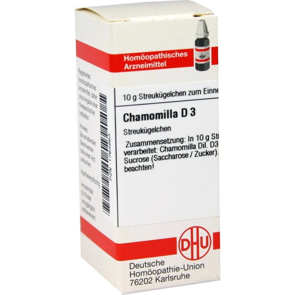 CHAMOMILLA D 3 Globuli