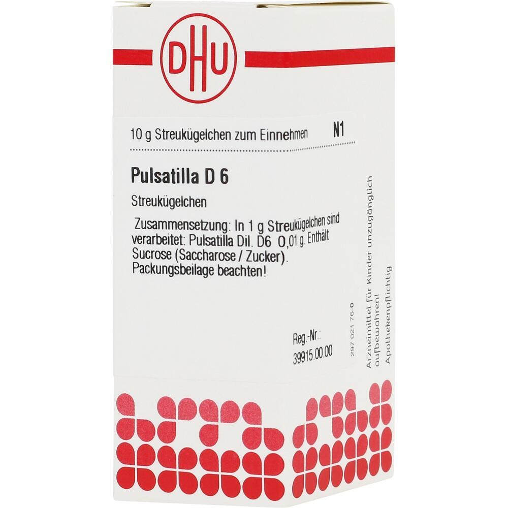 01782938, PULSATILLA D 6, 10 G