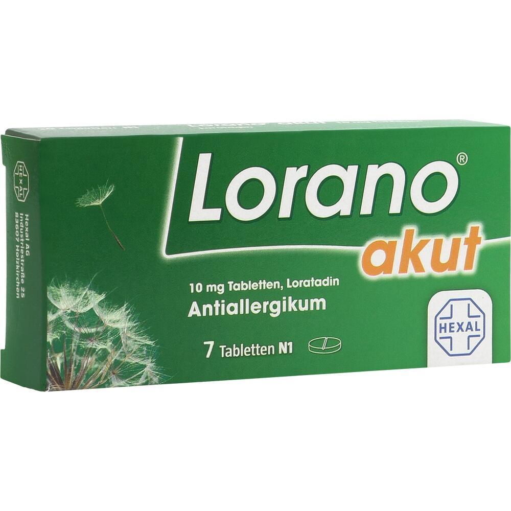 01797130, Lorano akut, 7 ST