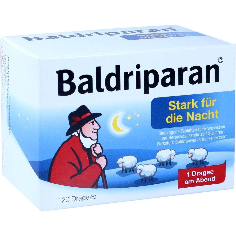 01819245, Baldriparan Stark für die Nacht, 120 ST