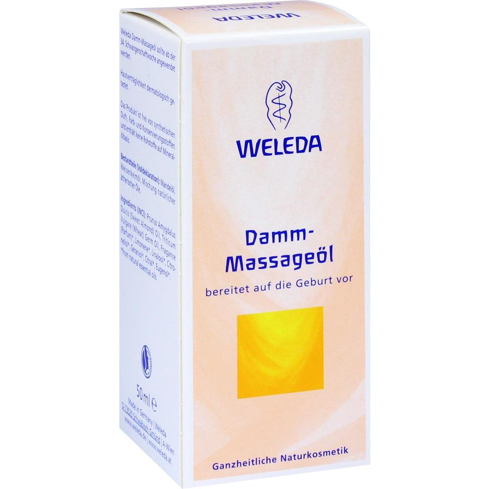01830531, WELEDA DAMM-MASSAGEÖL, 50 ML