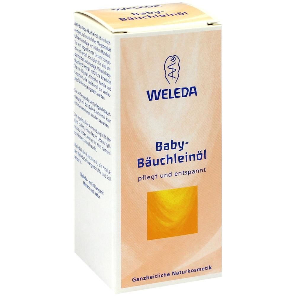 01830554, WELEDA Baby-Bäuchleinöl, 50 ML