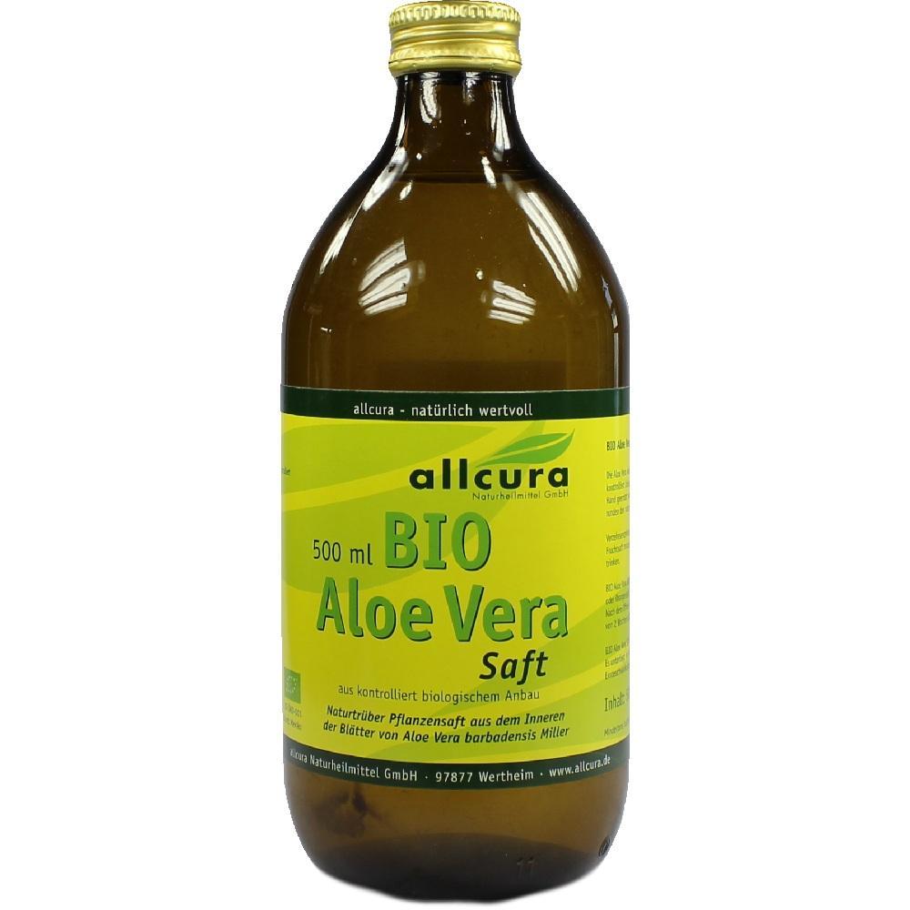 01866049, Aloe Vera Saft Bio, 500 ML