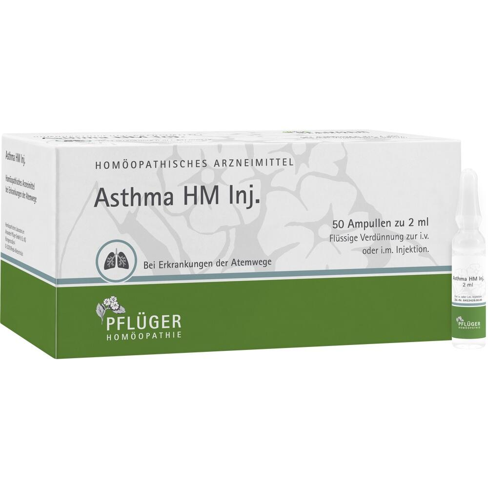 01876786, Asthma HM Inj., 50X2 ML