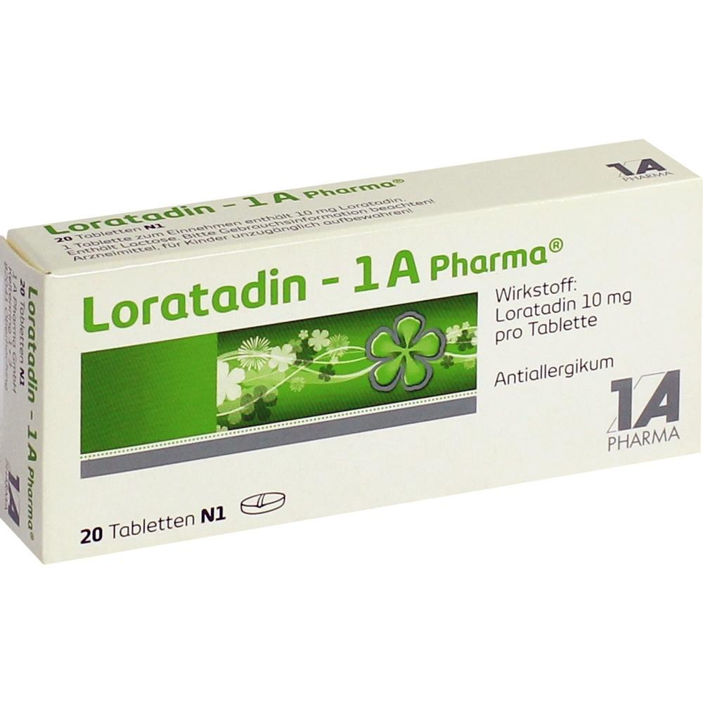 01879106, Loratadin - 1A Pharma, 20 ST