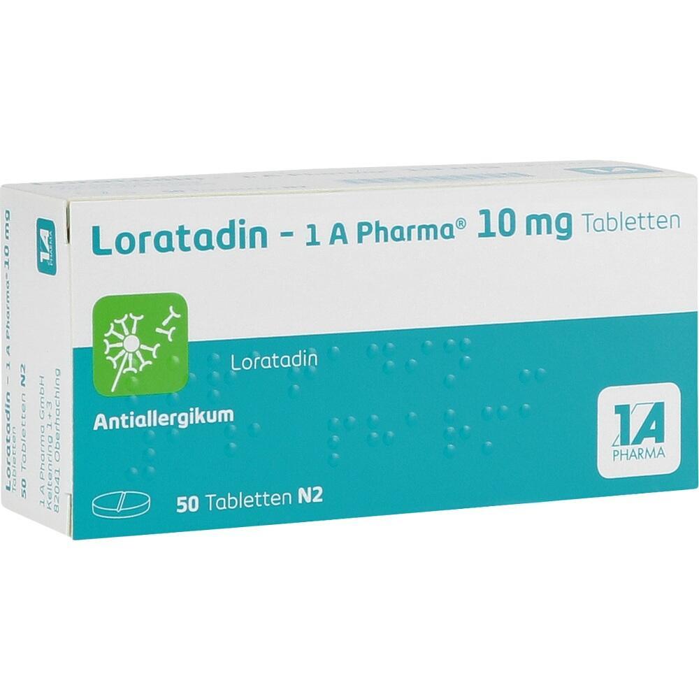 01879112, Loratadin - 1A Pharma, 50 ST