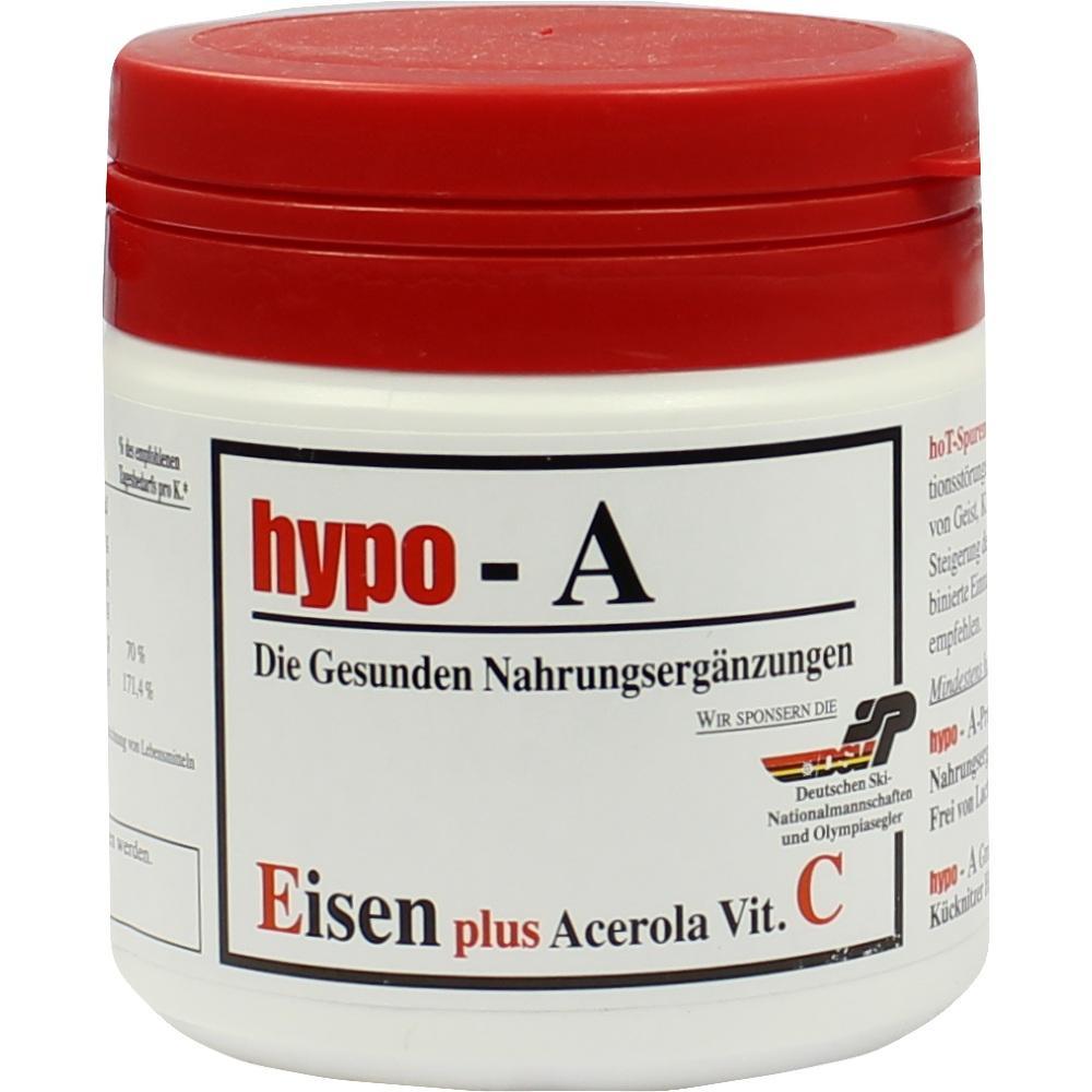 HYPO A Eisen+Acerola Vitamin C Kapseln