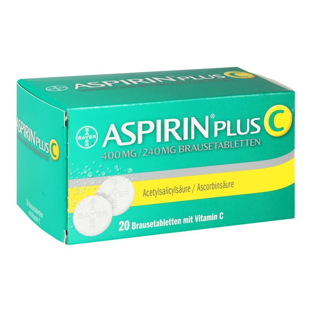 01894063, ASPIRIN PLUS C, 20 ST