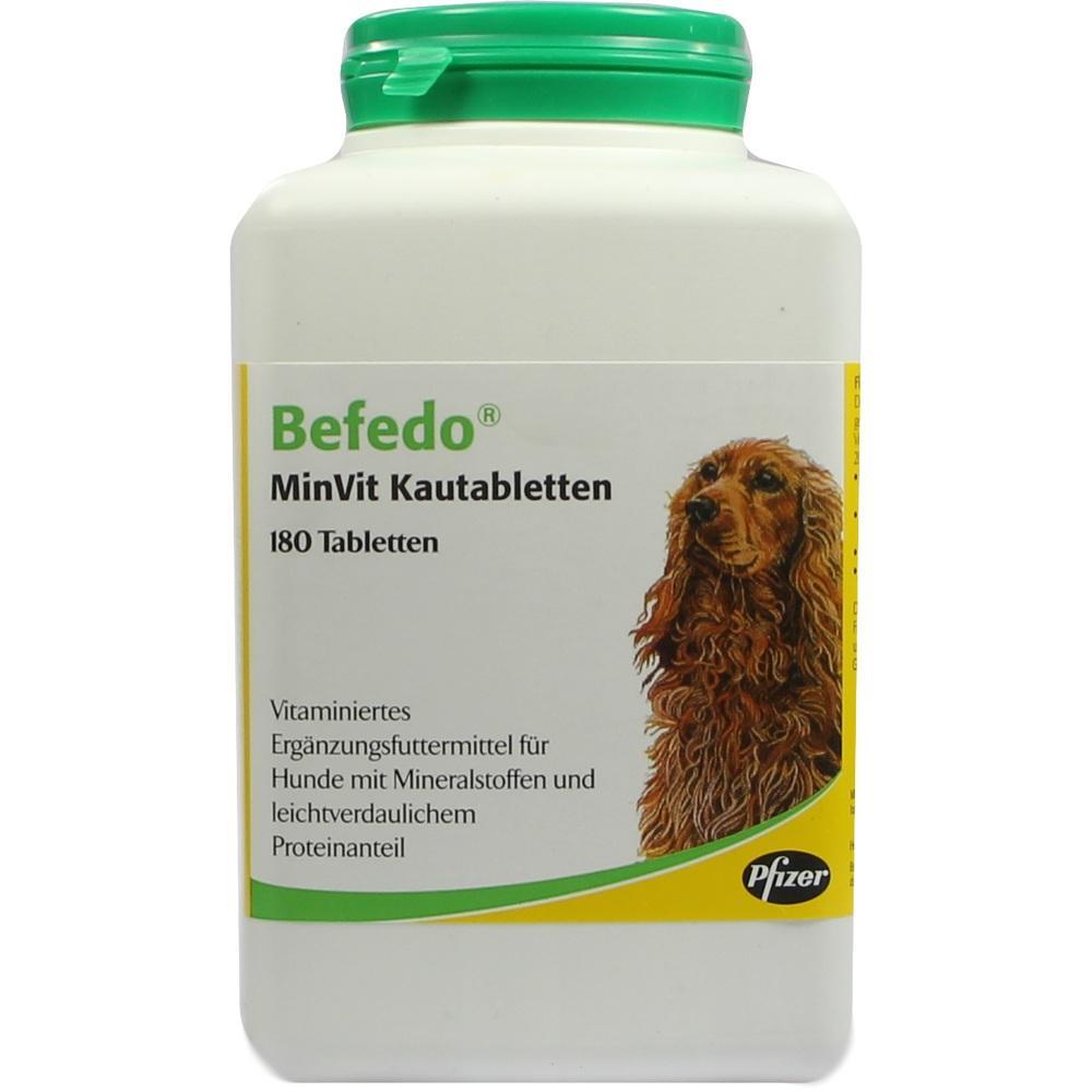 01896412, Befedo MinVit f.Hunde vet, 180 ST