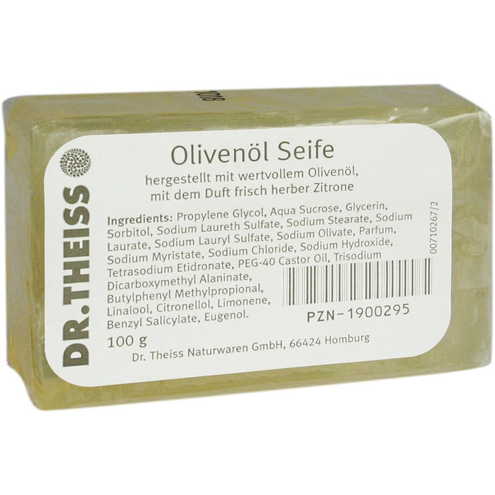 01900295, Dr.Theiss Olivenöl-Seife, 100 G