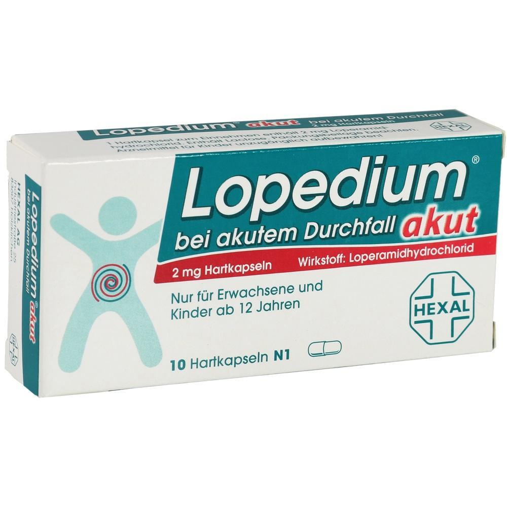 01939446, Lopedium akut bei akutem Durchfall, 10 ST