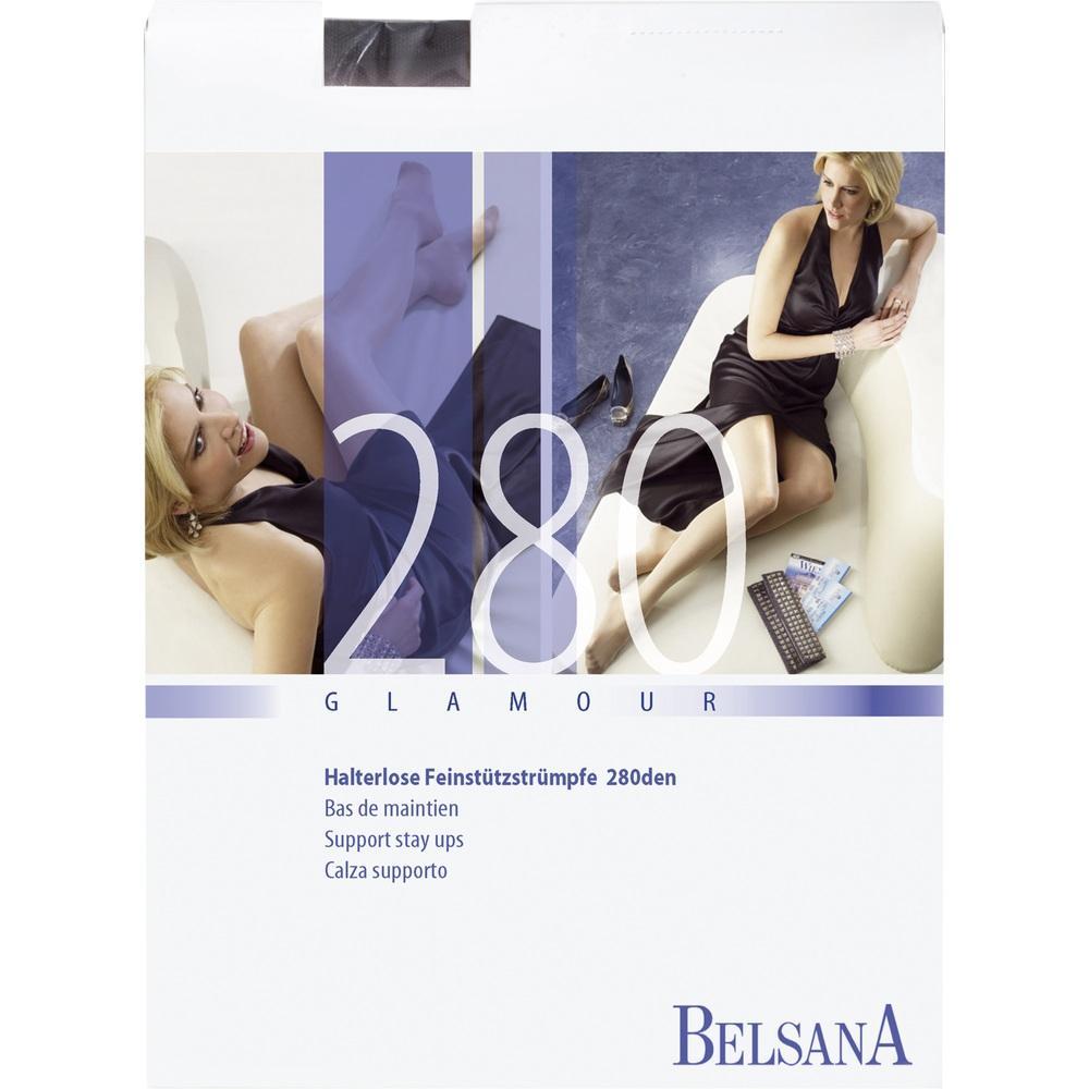 BELSANA glamour 280den AG kurz M SHB sch.m.Sp.