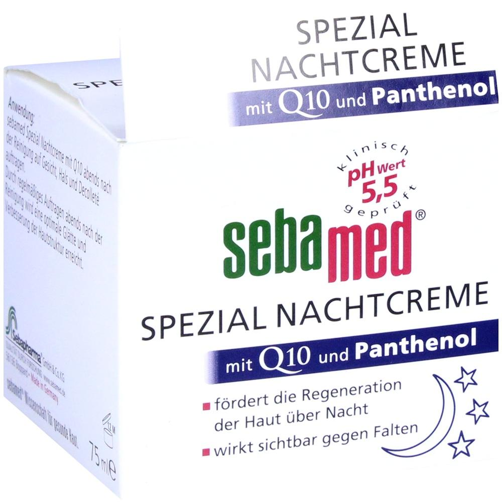01991719, SEBAMED Spezial Nachtcreme mit Q10, 75 ML