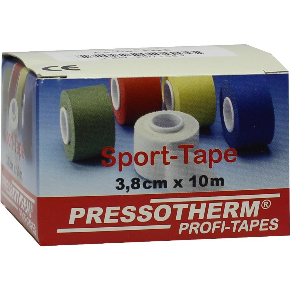 02002351, Pressotherm Sport-Tape rot 3.8cmx10m, 1 ST