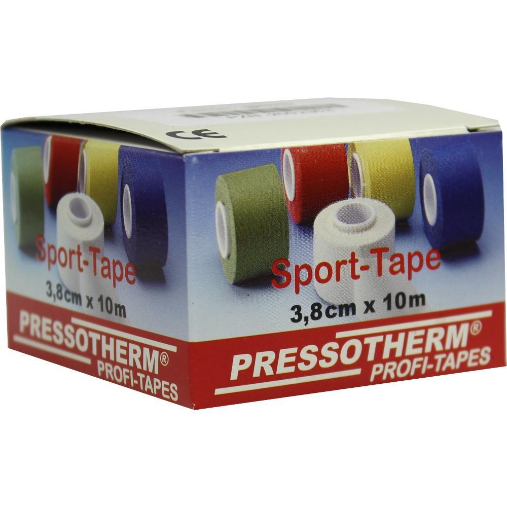 02002368, Pressotherm Sport-Tape gelb 3.8cmx10m, 1 ST