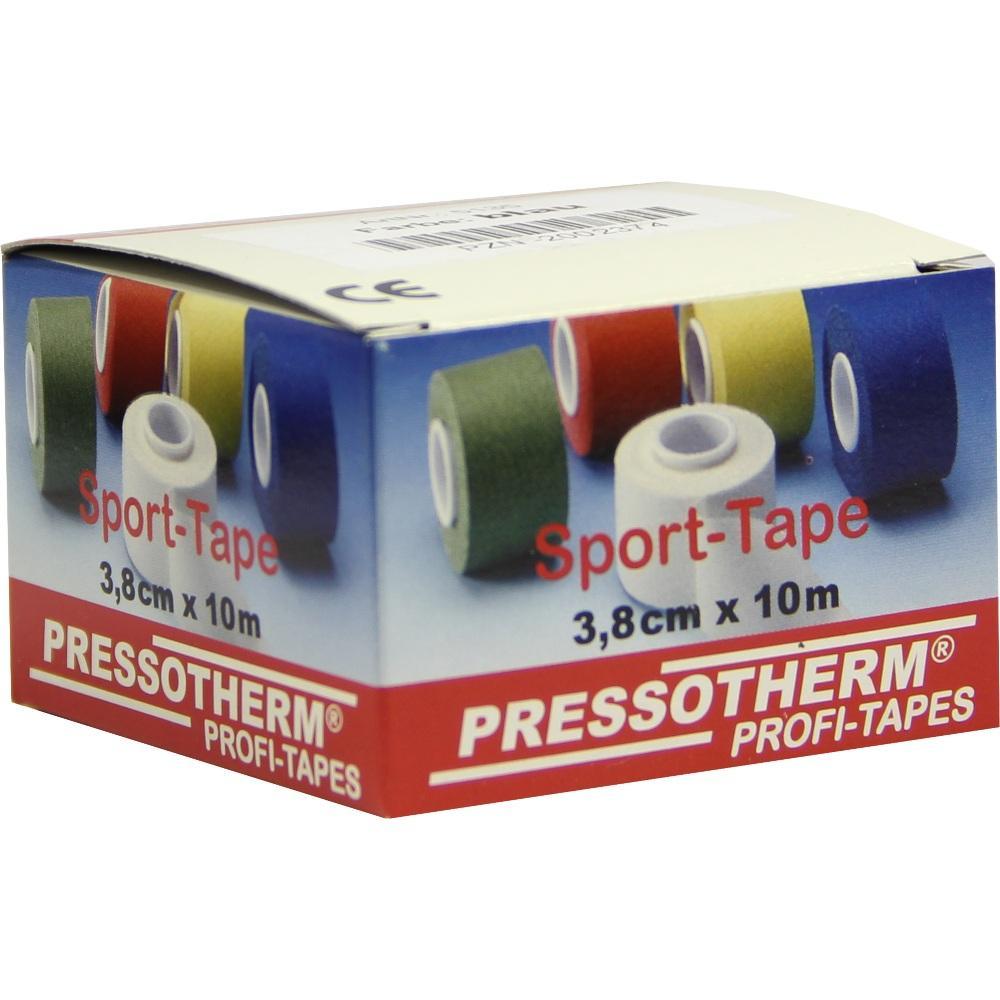 02002374, Pressotherm Sport-Tape blau 3.8cmx10m, 1 ST