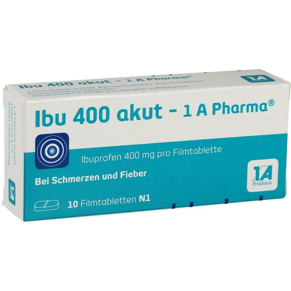 02013194, Ibu 400 akut - 1A-Pharma, 10 ST
