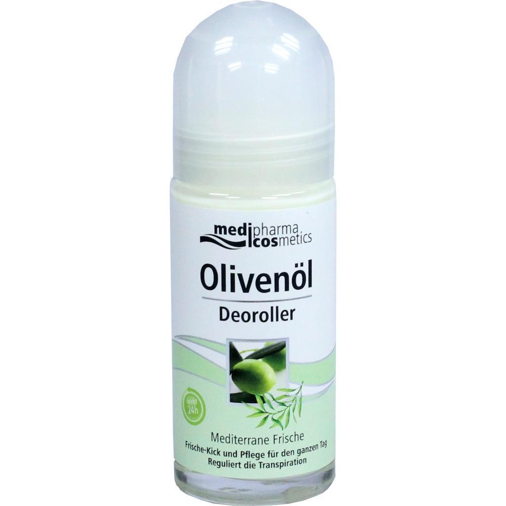 02019297, Olivenöl Deoroller Mediterane Frische, 50 ML