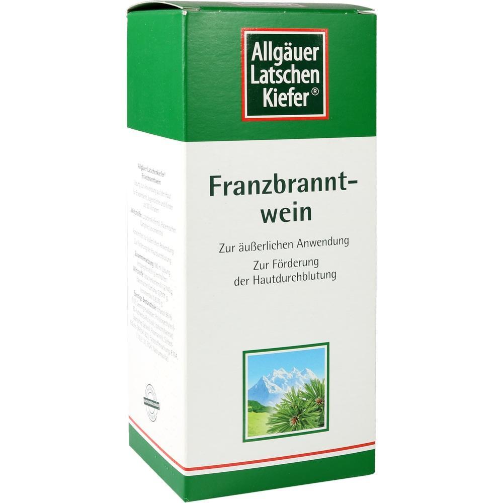 02031140, Allgäuer LK Franzbranntwein extra stark, 1000 ML