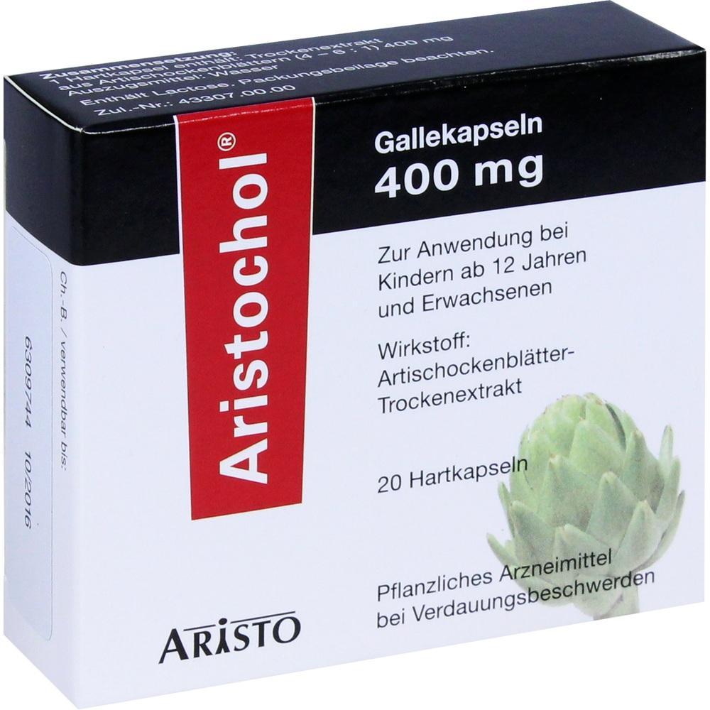 02031430, Aristochol Gallekapseln, 20 ST