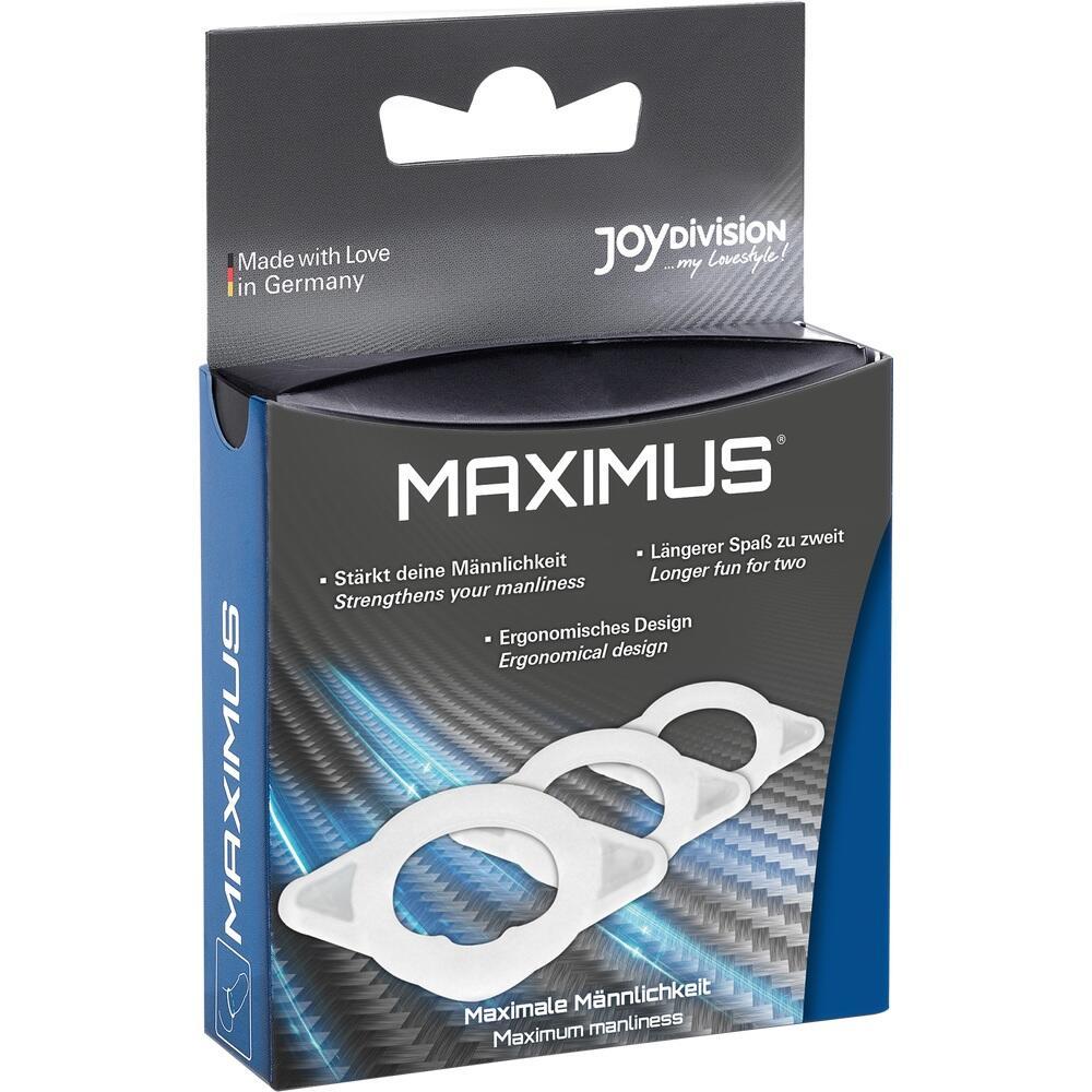 02032435, MAXIMUS-Der Potenzring XS S M, 3 ST