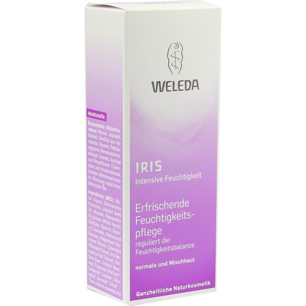 02055318, WELEDA Iris Erfrischende Feuchtigkeitspflege, 30 ML